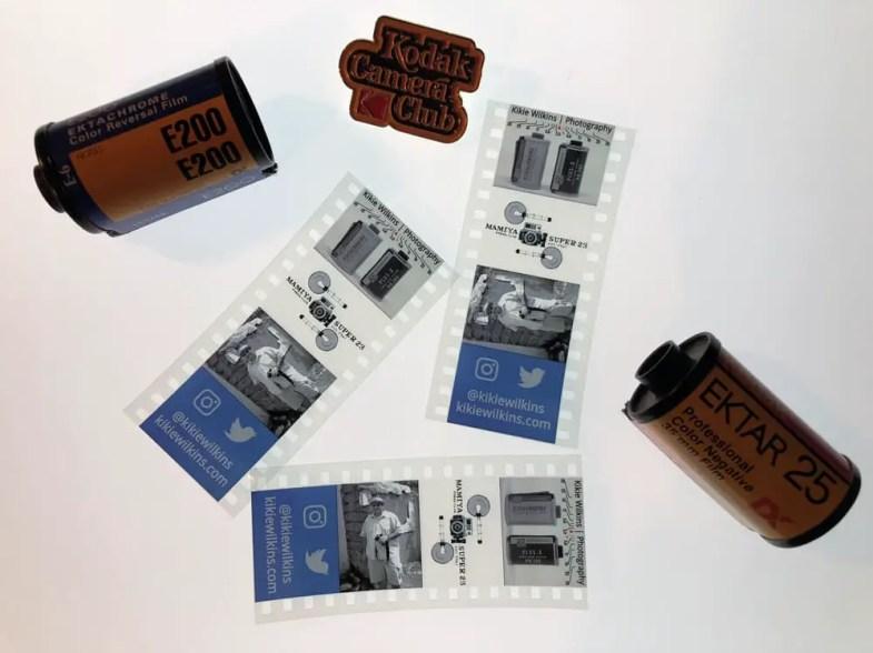 Kodak Film Strip Creator - In action