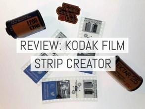 Review: Kodak Filmstrip Creator - Cover