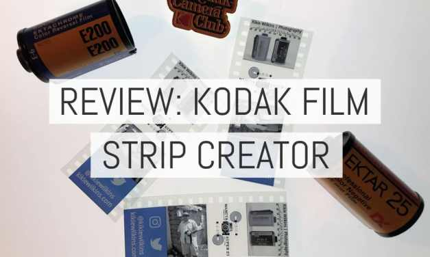 Review: Kodak Film Strip Creator – by Kikie Wilkins