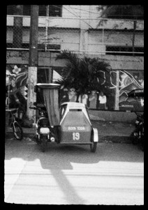 ORWO UN54 16mm film - Tricycle