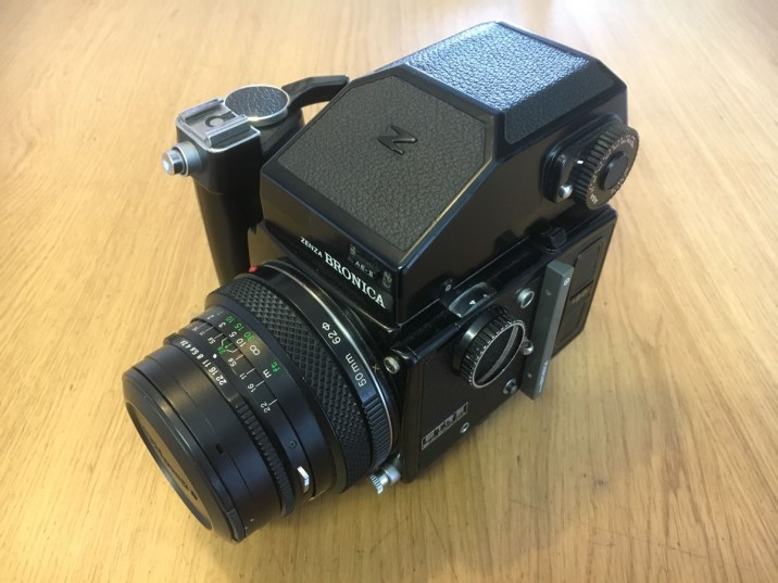 Bronica ETRS Review - Top left