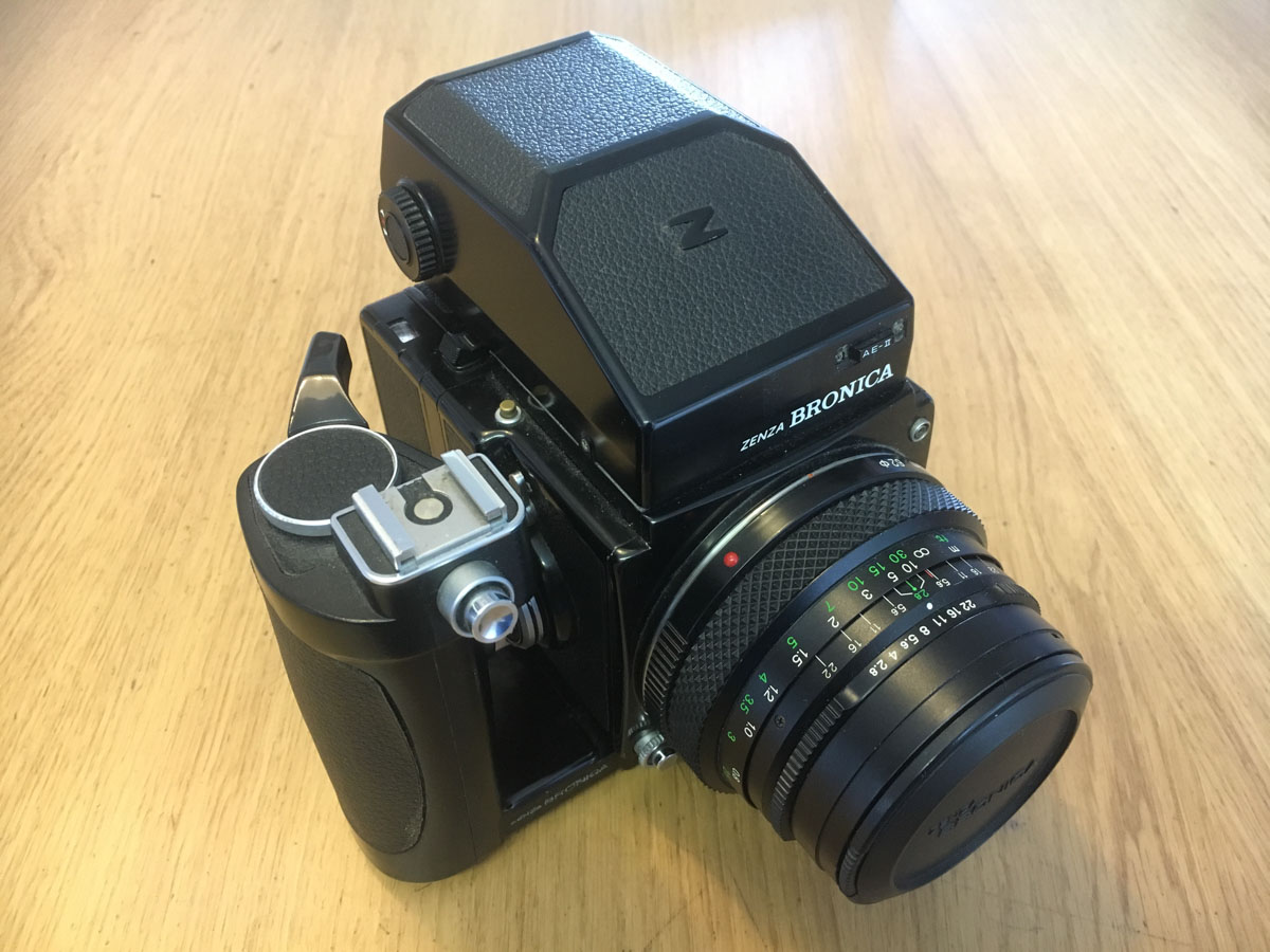 Bronica ETRS Review - Top right