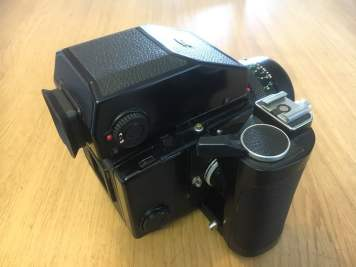 Bronica ETRS Review - Rear right