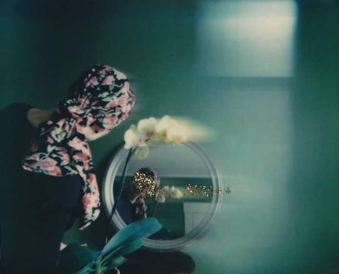 From the Dwell series - Polaroid Spectra, Polaroid Originals film with F101 motion filter and glitter