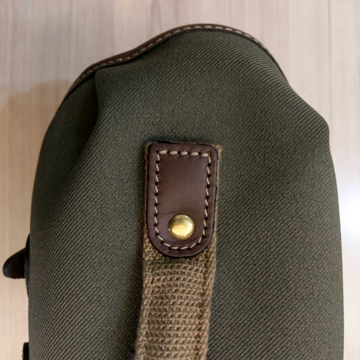 Billingham Hadley Small Pro - Top handle stitching