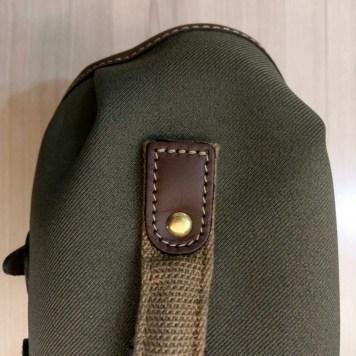 Billingham Hadley Small Pro - Top handle stitching
