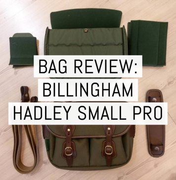 Cover - Billingham Hadley Small Pro review