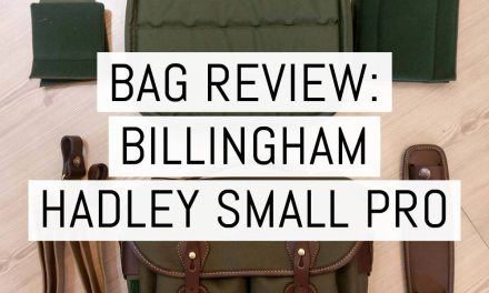 Bag review: the new Billingham Hadley Small Pro part one