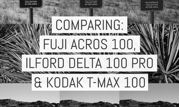 Film review: comparing Fuji ACROS 100, ILFORD Delta 100 Professional and Kodak T-MAX 100 – by Daniel Marinelli