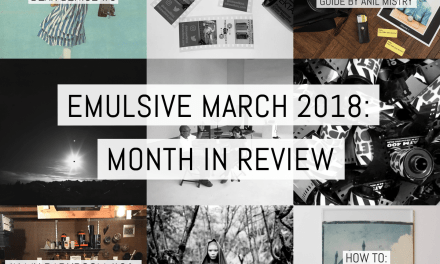 EMULSIVE March 2018: month in review
