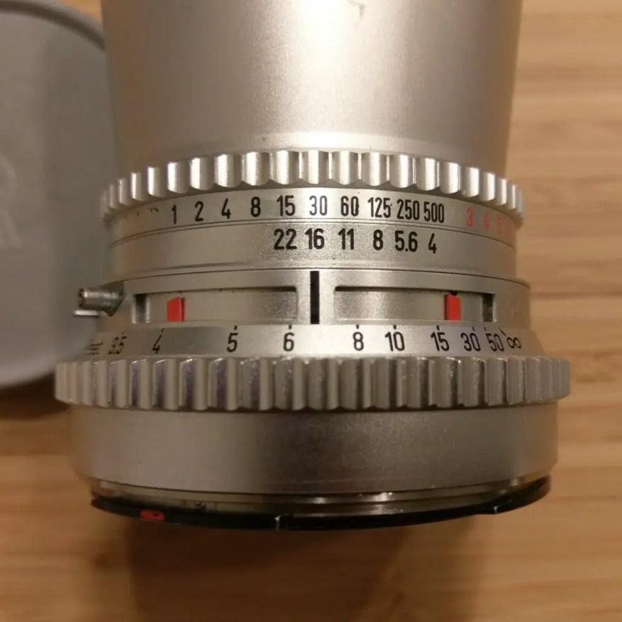 Hasselblad C lens - DoF Deep