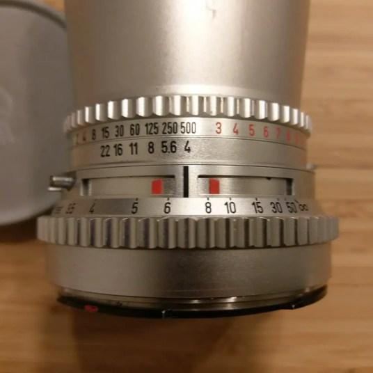 Hasselblad C lens - DoF Shallow