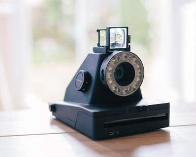 Impossible I-1 - Viewfinder open
