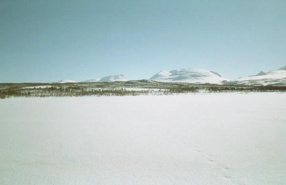 Lapporten (The Lapponian Gate) from Abisko Sweden