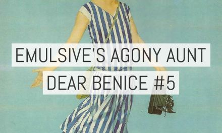 Dear Benice 5: Monkey see, monkey don't