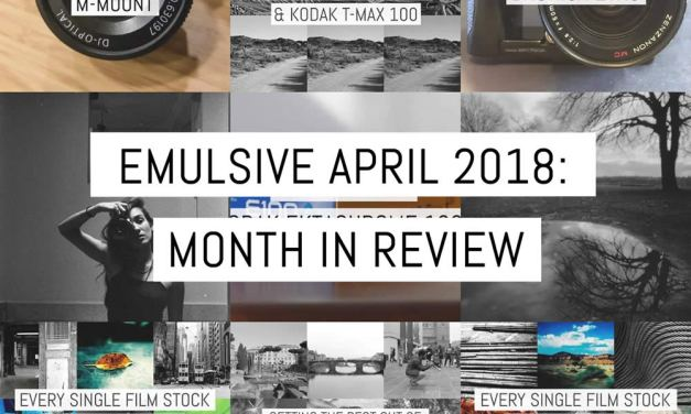 EMULSIVE APRIL 2018: month in review