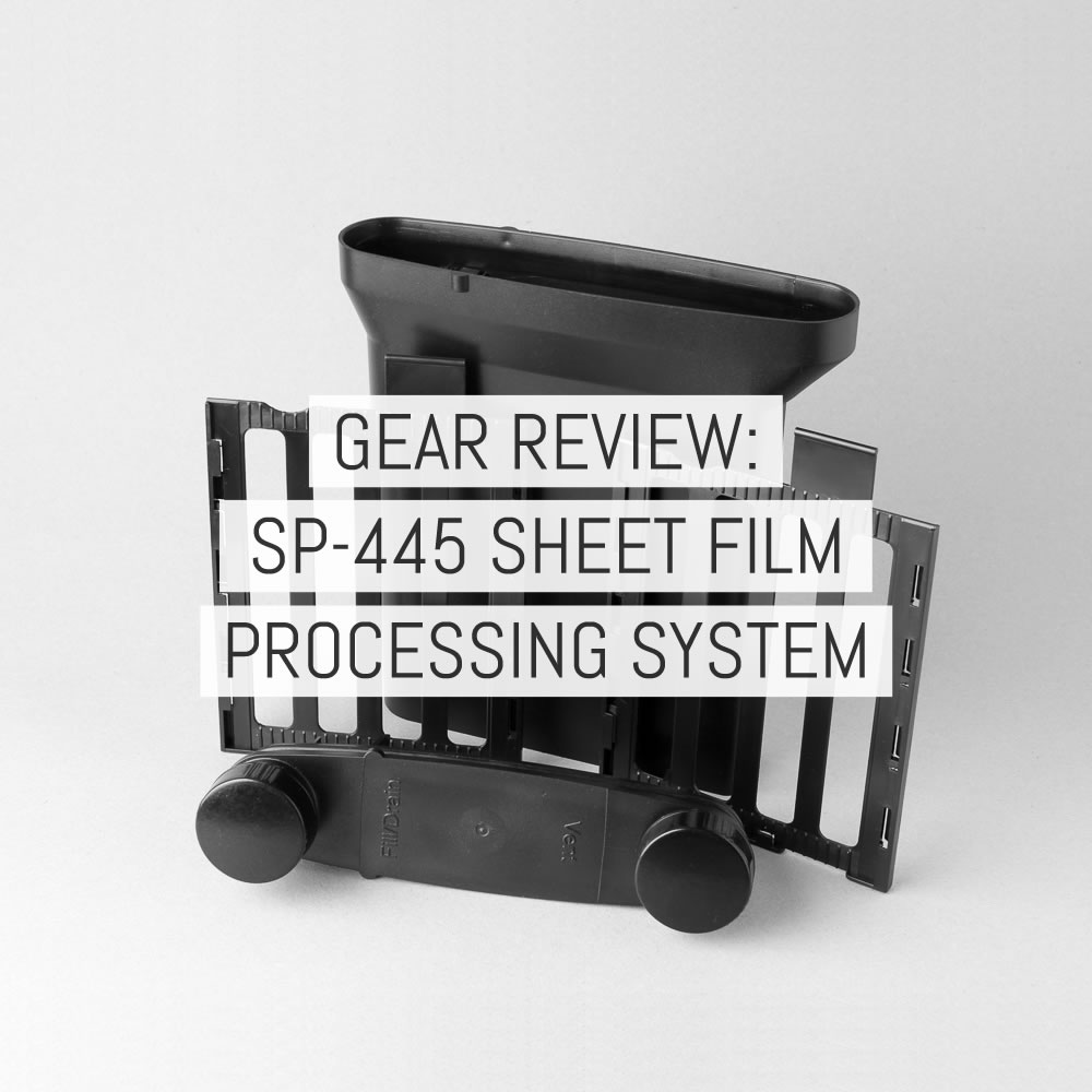 Gear review: SP-445 4x5 film processing system - by Richard Pickup