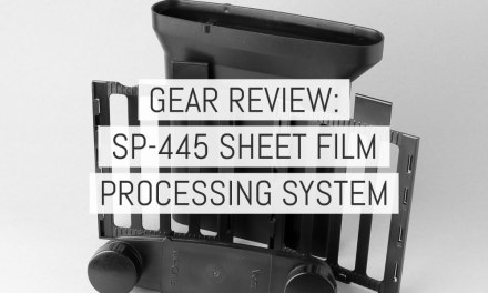 Gear review: SP-445 4×5 film processing system – by Richard Pickup