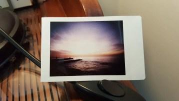 Sunset, Fuji Instax Mini Color, Lomography Automat Magellan.