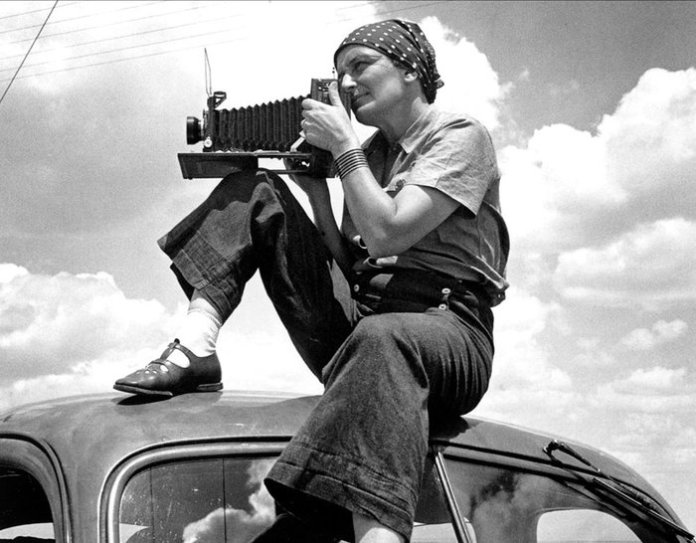 Dorothea Lange by Paul S. Taylor