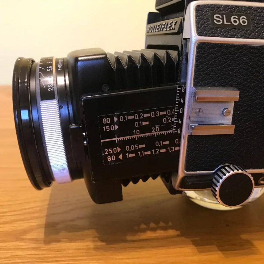 Rolleiflex SL66 - Bellows Tilt