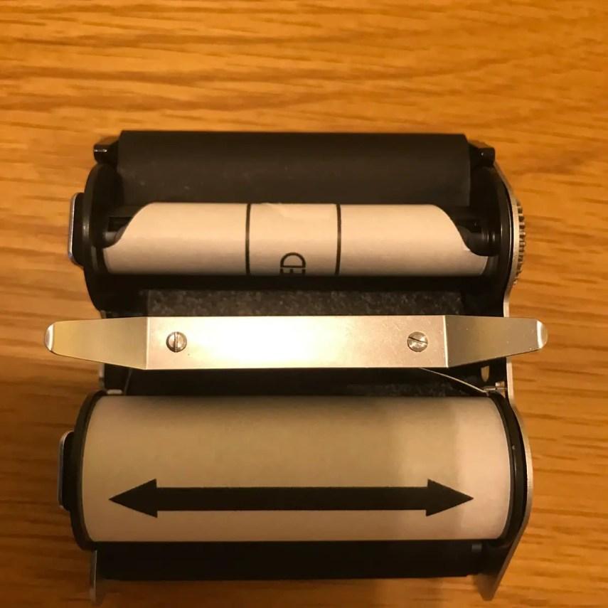 Rollei SL66 - Film Insert (film loaded)