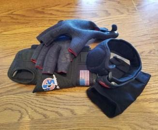 Scott Hays - Compression gloves, braces