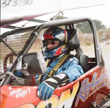 Stock car racer - Kodak Portra 160