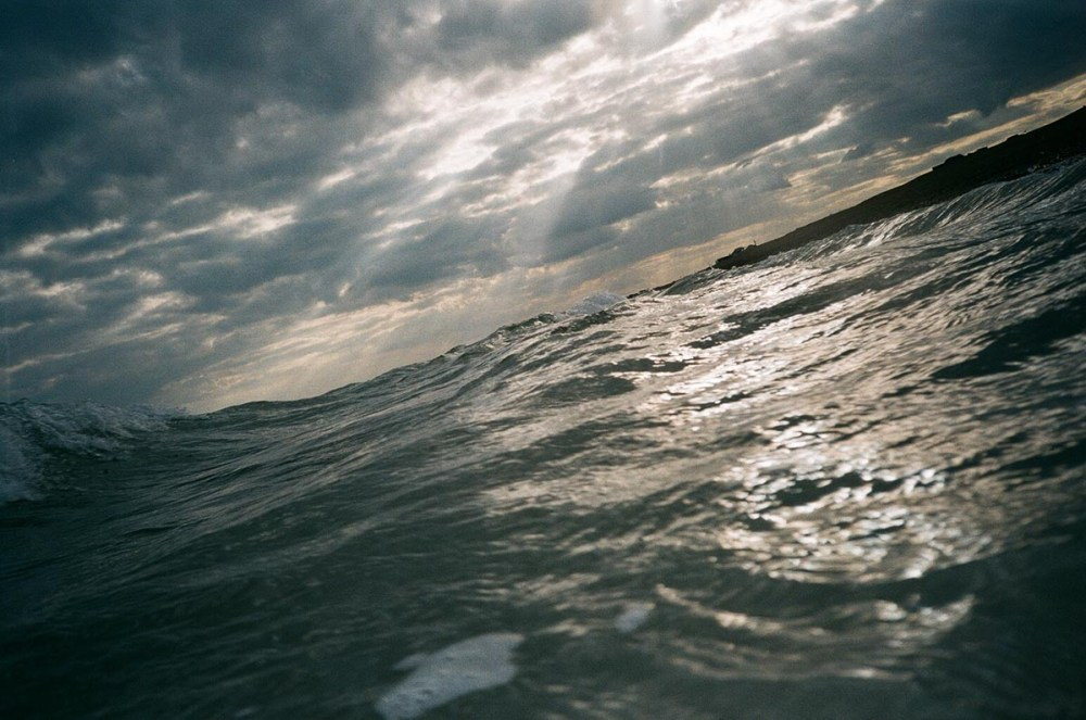 Waterproof camera shot