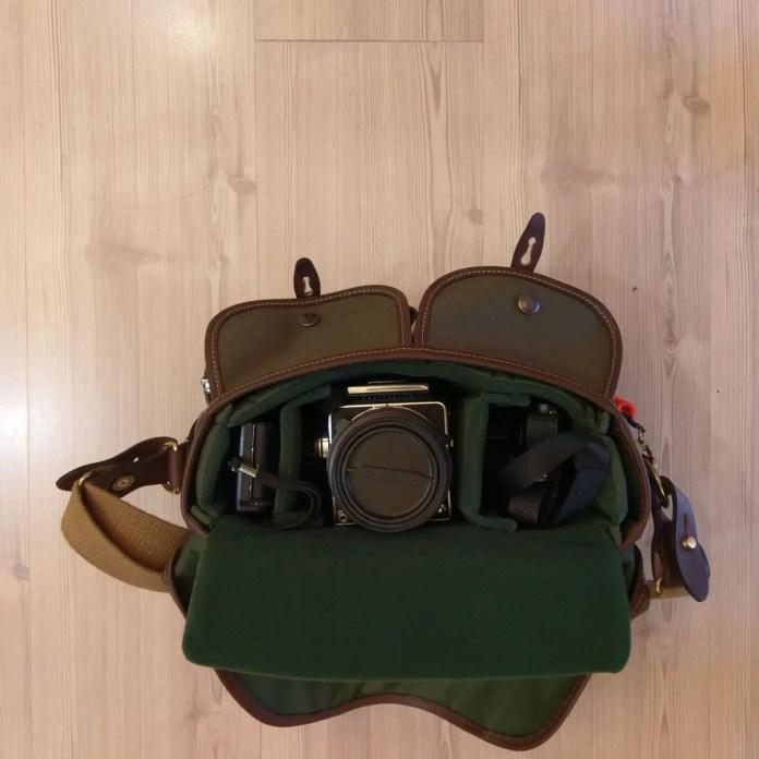 Billingham Hadley Small Pro - 35mm SLR mixed formats loaded