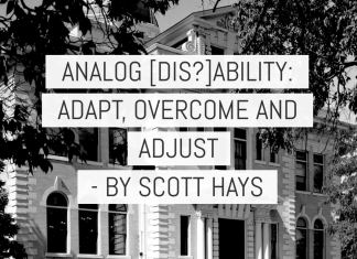 Analog (dis)ability - Adapt, overcome and adjust