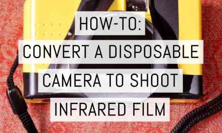 How-to: convert a disposable camera to shoot BW infrared film – by Lucy Wainwright