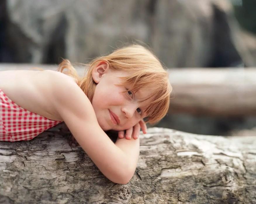 Margot on log - Kodak Portra 400NC