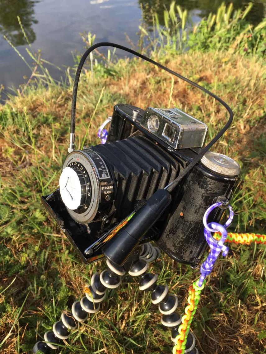 The AgiPinFold - Ready to shoot