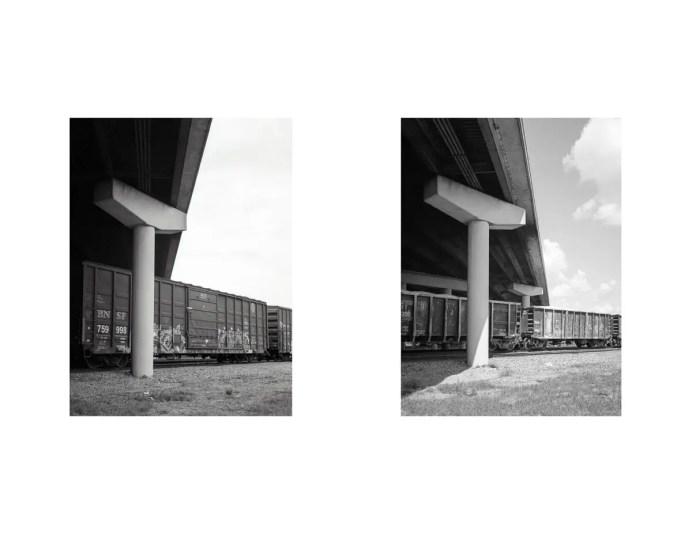 I-45 South - Fuji GS645 & GS645S - Kodak Tri-X 400