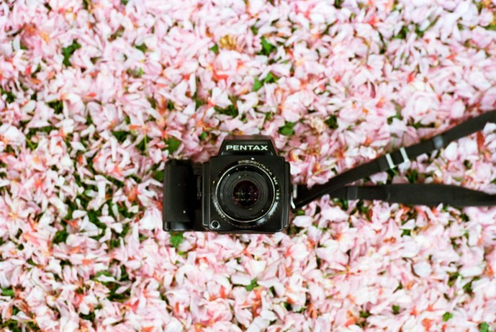 """""""Wow it's like a camera of the future, but you know from the past"""" - Beauty of the Pentax 645 (35mm Kodak Image Pro)"""