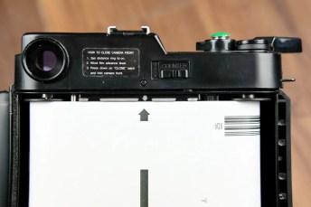 Fuji GS645 - Film loaded