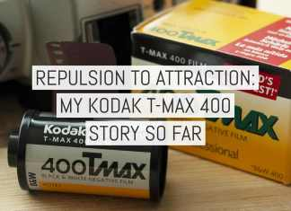 Cover - Repulsion to attraction - My Kodak T-MAX 400 story so far