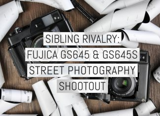 Sibling rivalry - Fujica GS645 & GS645S street photography shootout