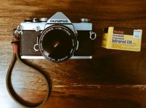 Olympus OM1n + Kodak EKTACHROME Infrared EIR