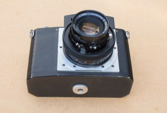 The Nameless Camera - Base plate