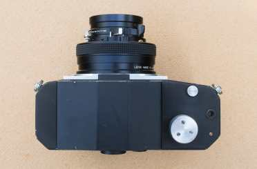 The Nameless Camera - Top plate