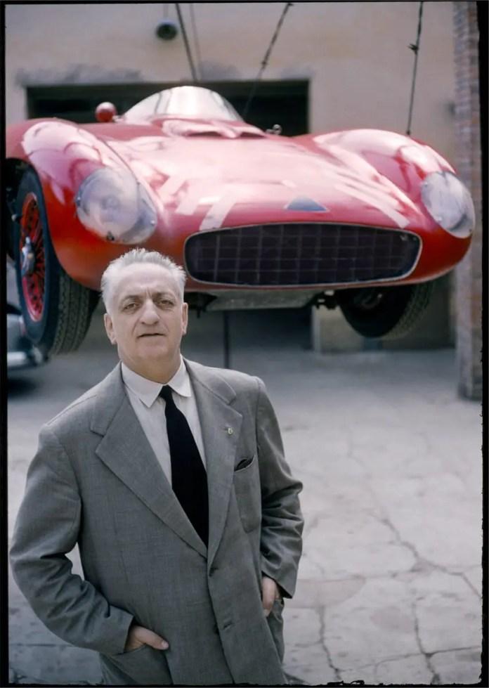 Tony Vaccaro - Enzo Ferrari - Modena, Italy, 1965