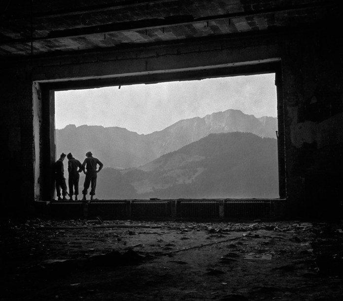 Tony Vaccaro - WWII, Hitler's Window - Eagles Nest, Bavaria 1947