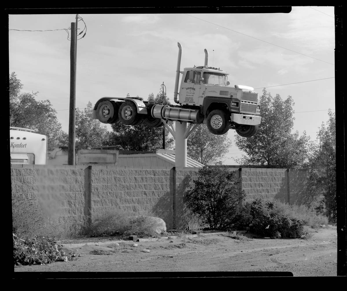 Kodak Verichrome Pan 100 - CAMERADACTYL 4x5 - I like cars and trucks