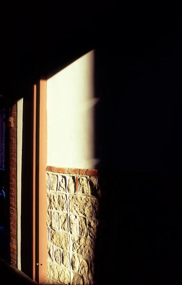 5 o'clock shadow - Shot on Fuji Velvia 100 (RVP100) at EI 100. Color reversal (slide) film in 35mm format.