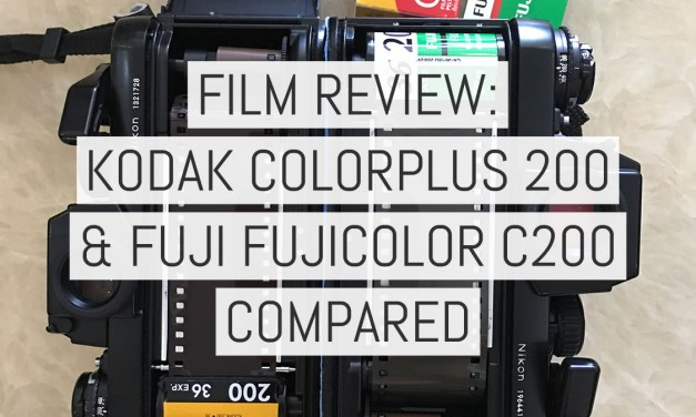 Film review: Kodak ColorPlus 200 and Fuji Fujicolor C200 compared
