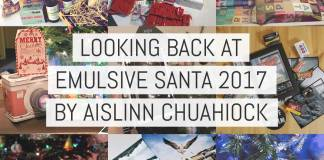 Cover - Looking back at EMULSIVE Santa 2017