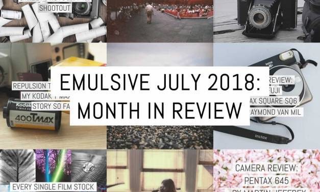 EMULSIVE July 2018: month in review