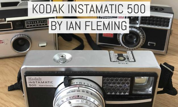 Camera review: the Kodak Instamatic 500 or, why I love 126 format film – by Ian Fleming